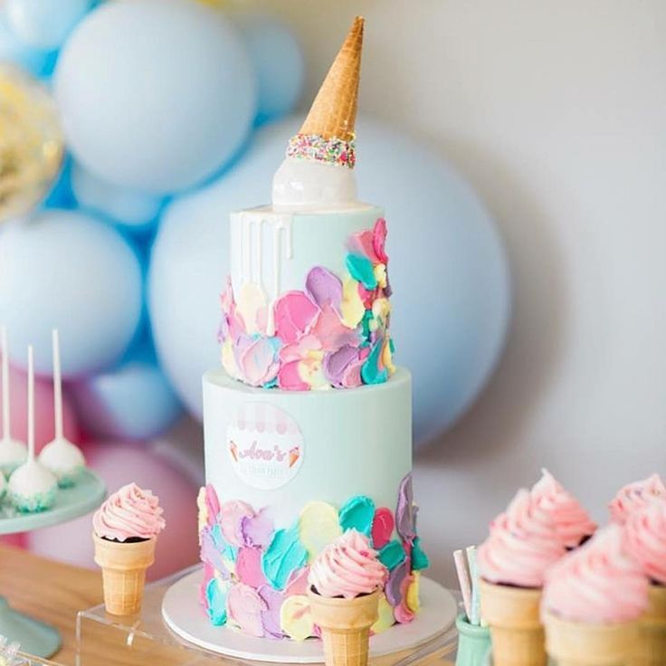 Ice cream party perfection!