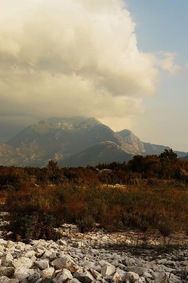 George Westermak Photograph - Spectacular View Of Mountains Of Croatia by George Westermak#George Westermak#FineArtPrints#travel#Croatia