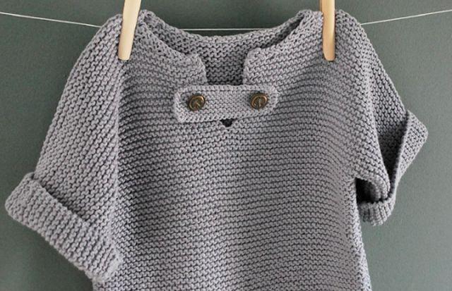 Marinière niño necesita en todos los armarios! ~ Balaine | descuento en línea de lana | Modelos Gratis