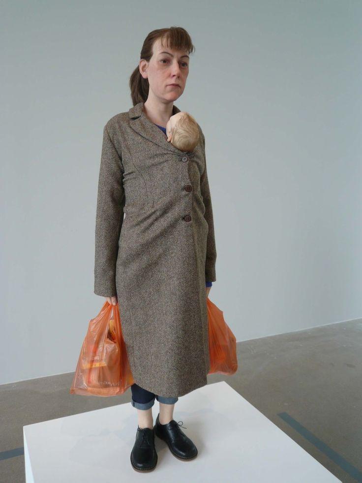Ron Mueck - Hyper-realistic Human Sculptures