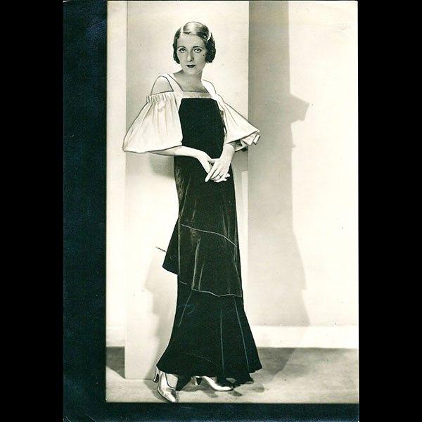 Lucien Lelong - robe du soir (1932)
