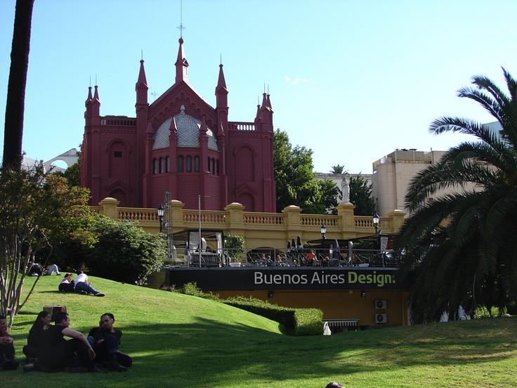 Plaza Francia, Recoleta, Buenos Aires, Argentina.