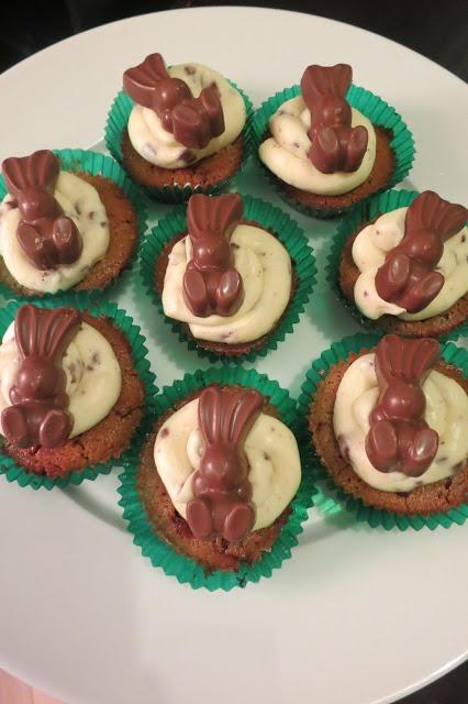 Easter Baking: MaltEaster Bunny Cupcakes - Blogged via: Three Bad Mice