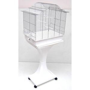 Mega perruches de cage à oiseaux canaris avec supp