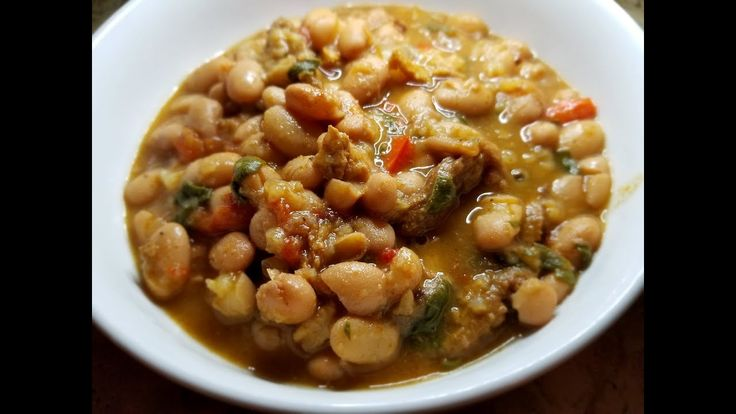 Pinto Bean and Soy Curl Chili~Turner Style~WFPB Vegan SOS Free