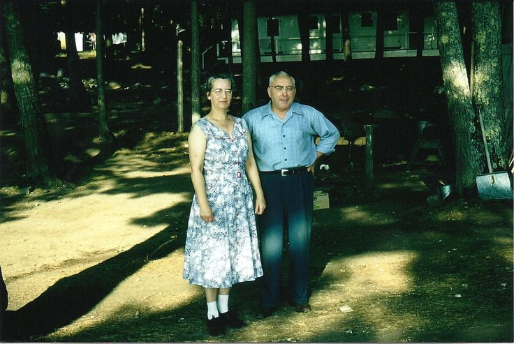 Harry & Florence Morgan who purchased Beachwood Lodge in 1944.