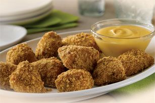 Pretzel Chicken Dippers recipe - I didn't have the pretzel kind.  Just used regular and it was good!