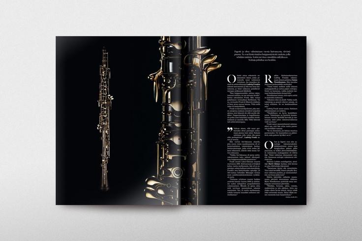 Magazine spread layout Life Magazine #3 / Client: Mandatum Life, Agency: Wonder Helsinki