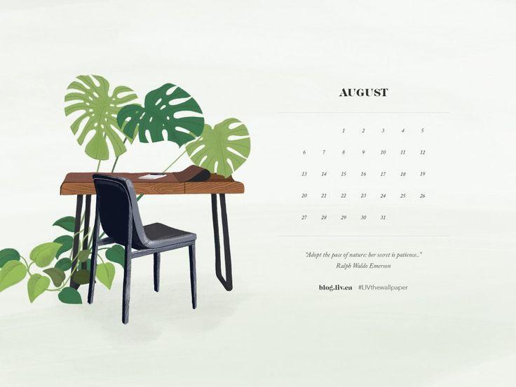 LIV wallpaper august