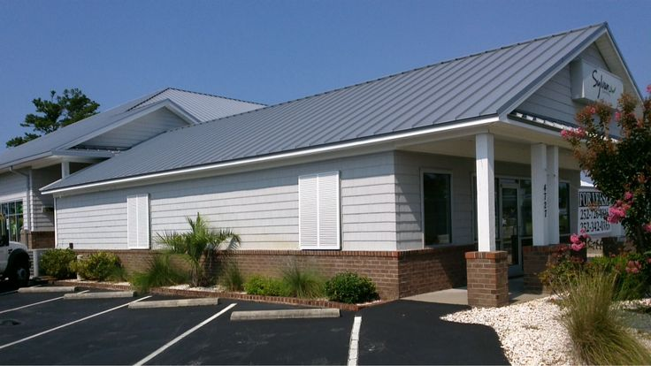 Commercial Office Space for lease with Coldwell Banker Spectrum Properties.  Located at 4737 Arendell St., Morehead City, NC, this fully equipped and ready to move into 1500 sq. ft. of professional office or retail space for $1800/month.  #commercialrealestate #forlease #crystalcoast #justlisted