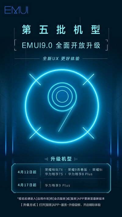 EMUI 9 0 update for Honor 7X, Honor 9i, Honor 9 Youth Edition