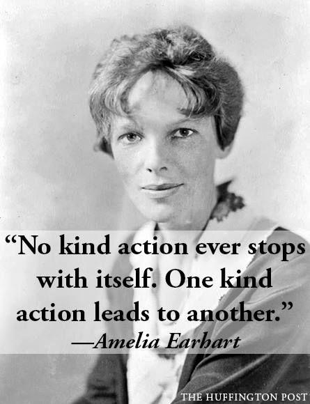 Amelia Earhart words of wisdom