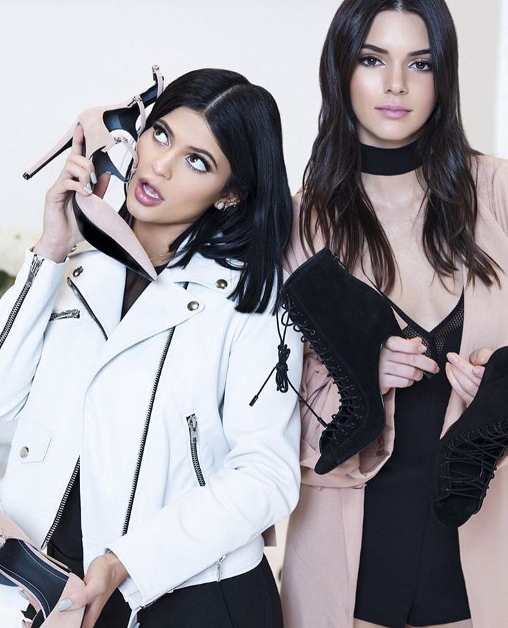 Kylie and Kendall Jenner