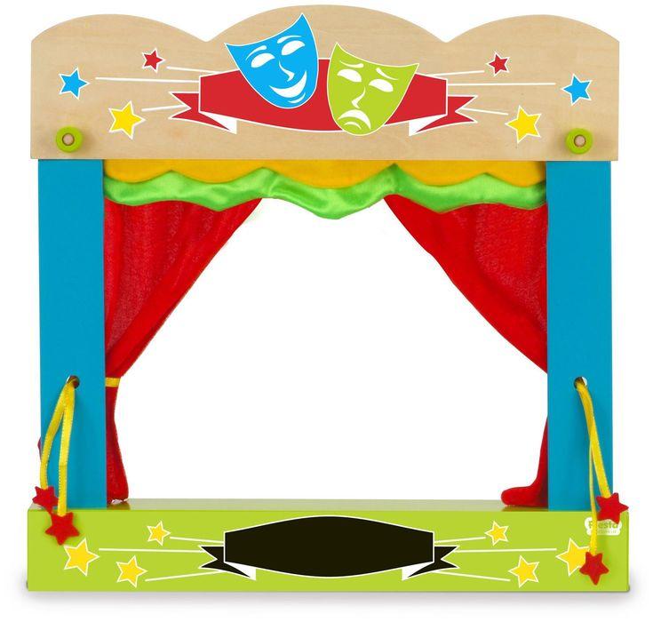 Кукольный театр для детей картинки с пояснением распечатать