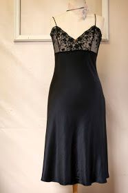 pattern ~ scissors ~ cloth: The Ruby Slip #2 - Cutting the Bias Skirt