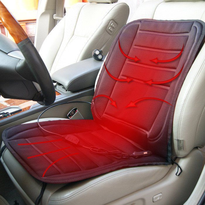 Heated Car Seat For Winter 12V Car Single Cushion Heated Seat