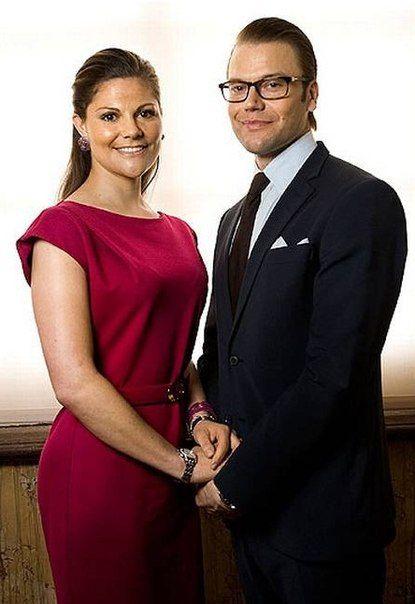 Crown Princess Victoria of Sweden and Prince Daniel