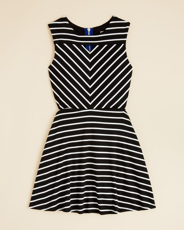 Sally Miller Girls' Rachel Stripe Dress - Sizes S-XL | Bloomingdale's