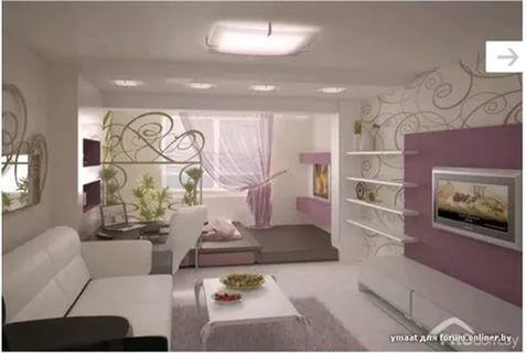 дизайн зала-спальни в квартире фото: 26 тис. зображень знайдено в Яндекс.Зображеннях