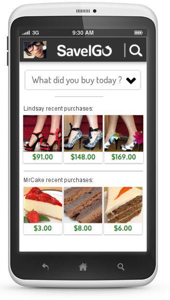Shopping App for Smartphone App per lo shopping savelgo.com