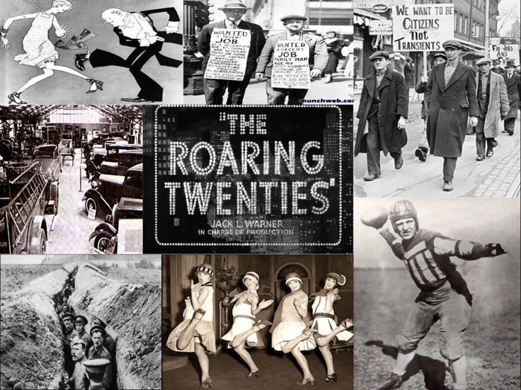 1920's Music - The 1920s - Also known as the Roaring Twenties