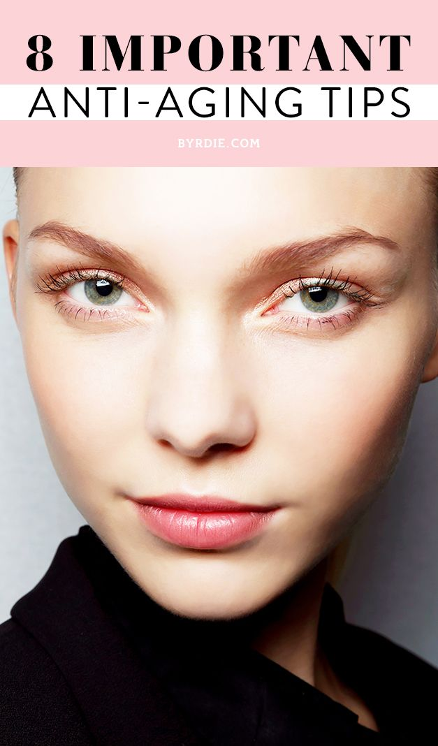 The 8 most important anti-aging tips of 2014