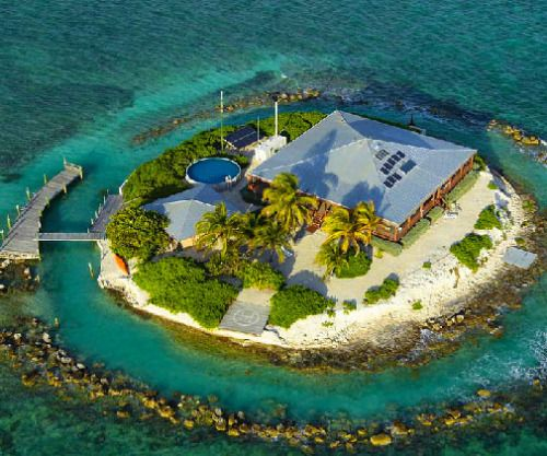 Contemporary Mediterranean House A Private Paradise: Private Florida Island Become The Proud Owner Of An