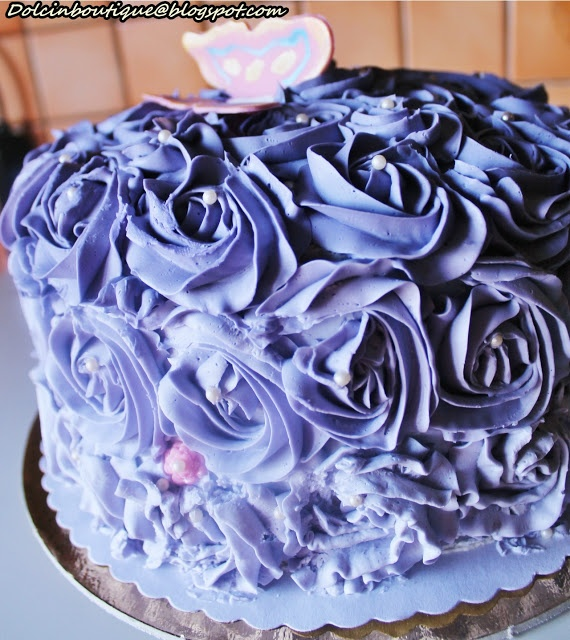 Ombre rose cake. Una torta importante, in pure stile made in usa