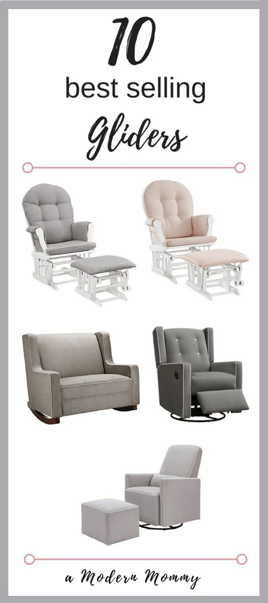 Affordable Nursery Gliders that Moms Love