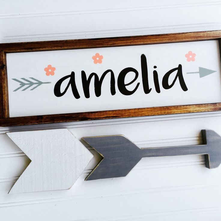 ~ new baby girl / little girl name sign is already a big hit