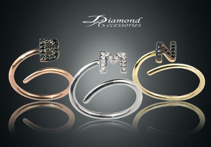 Προσωπική σφραγίδα με δαχτυλίδι με το δικό σας μονόγραμμα! Μόνο 15,00€