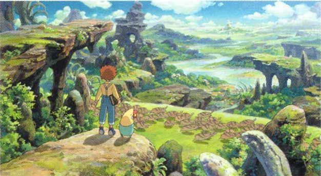 Ni No Kuni - Studio Ghibli's first game?  Sign me right up!