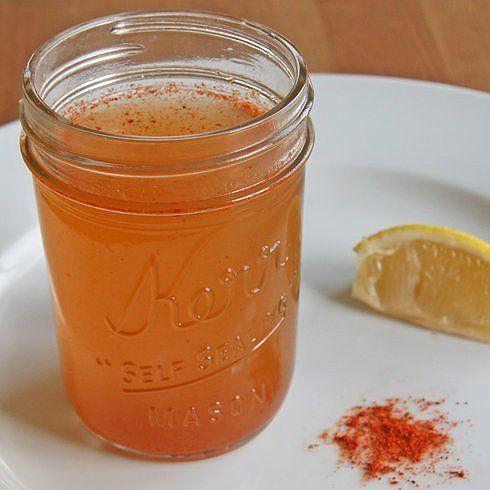 Apple Cider Vinegar Brew - great for congestion