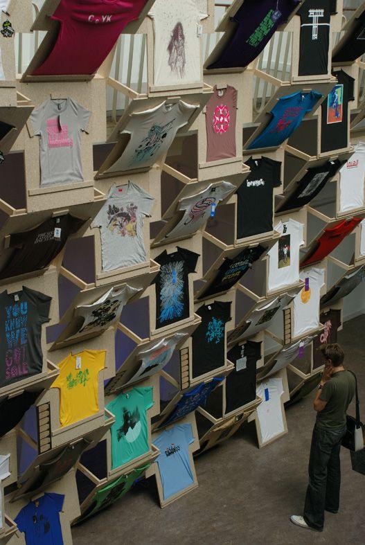 Sweat shop @ KOP, Breda [Netherlands, 2008] (Design: Super A; Curator: Staynice)