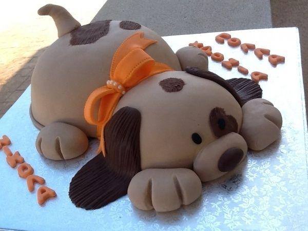 торт собака 3d