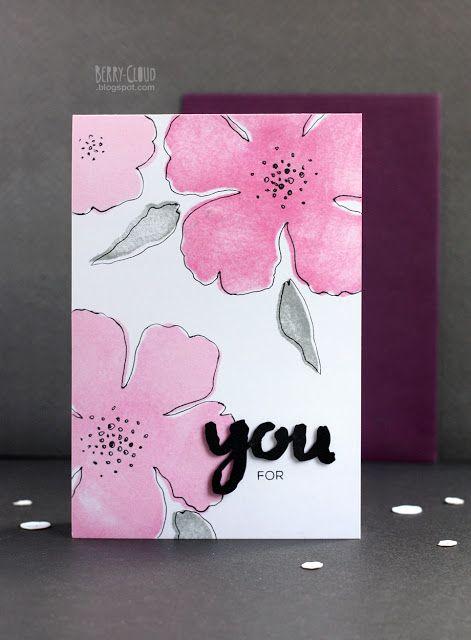 BerryCloud. Creo, ergo sum: Blossom / Card
