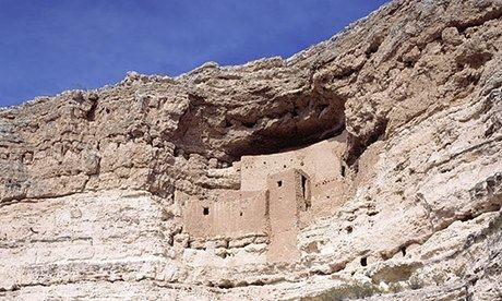 Montezuma's Castle national monument (Arizona)