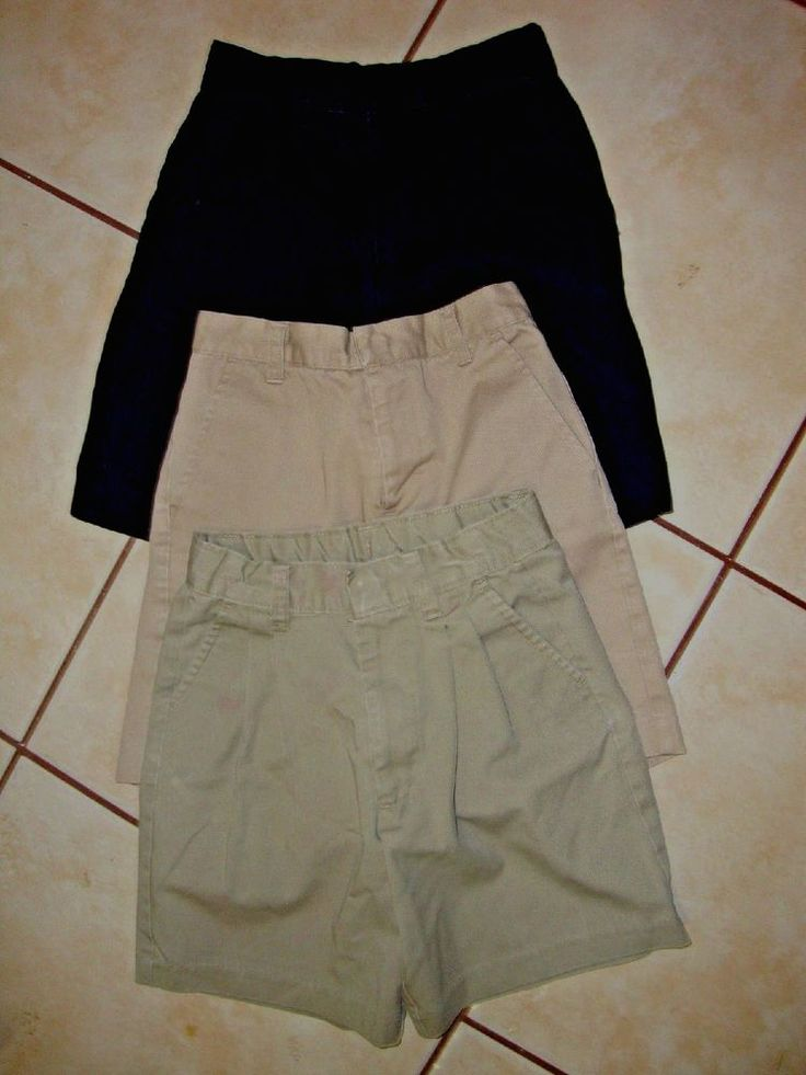 Lot of 3 Size 7 Youth Girls School Shorts Excellent Condition #ClassRoom #Shorts