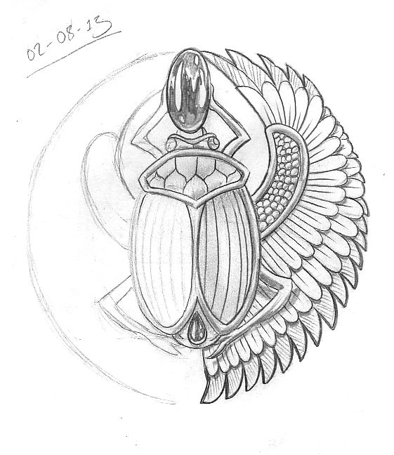 Tattoo Sketch A Day: August 2013