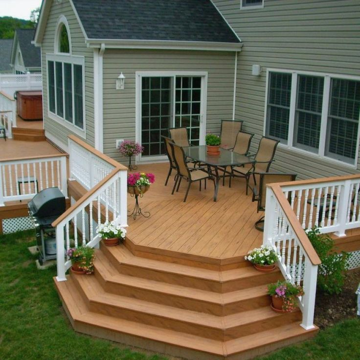 Home Deck Design Ideas: Tips For Building A Wooden Deck In 2020