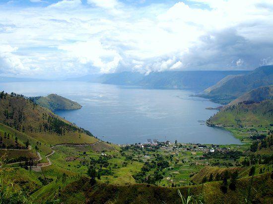 Toba lake, Prapat, Medan, in Sumatera