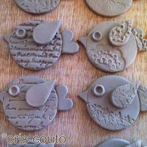 Clay birds by So Bai