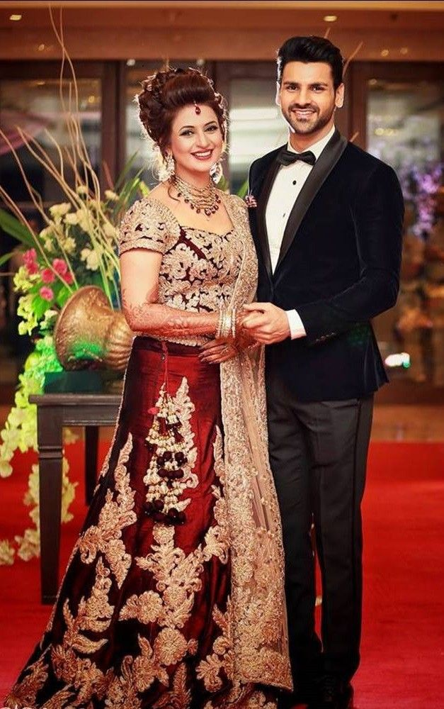 Divyanka Tripathi Wedding Lehenga Divyanka Tripathi Wedding Bridal Lehenga Red Indian Groom Dress