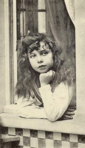 Princess Elisabeth of Hesse and by Rhine.  She was a favorite of her great-grandmother, Queen Victoria who, fortunately, didn't live to witness her tragic death.