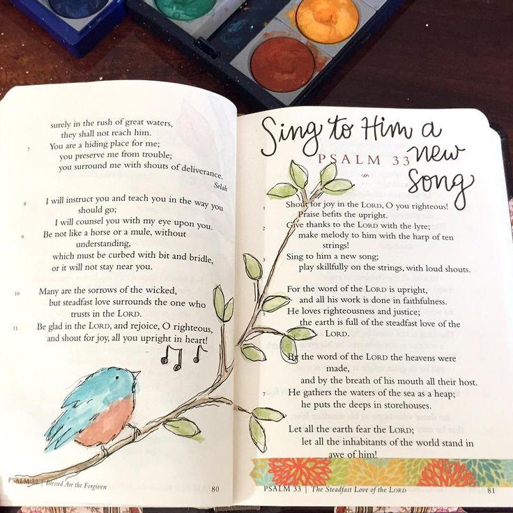 Psalm 33. / patjournals