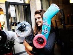 L'invitée de la semaine : VALERIE MOENNE, créatrice des collants Marie Antoilette • Hellocoton.fr