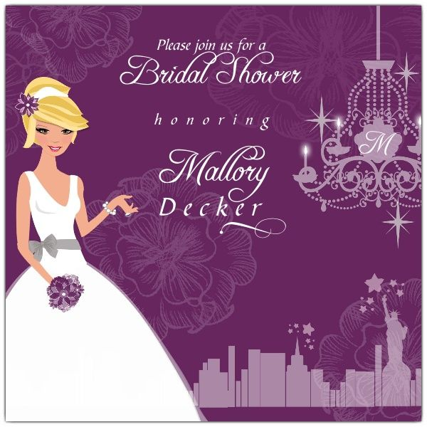 29 best Bridal Shower Invitations images on Pinterest - free templates for bridal shower invitations