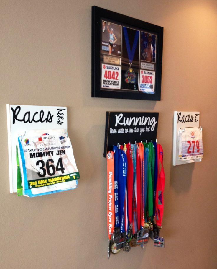 Best 25+ Race bib holder ideas on Pinterest | Medal ...