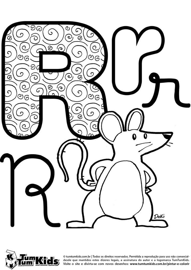 Letra R de Rato