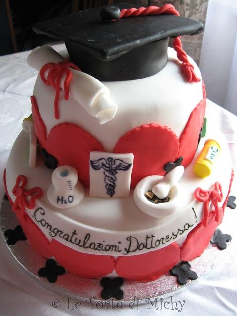 Torta Laurea in Farmacia o CTF